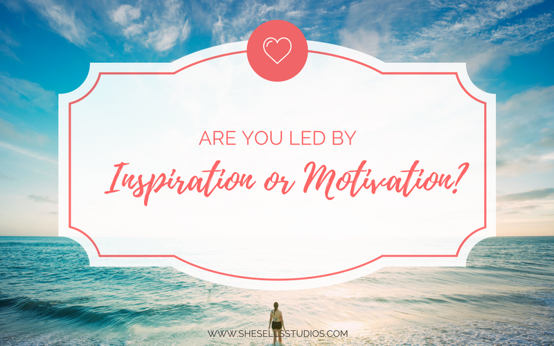 Are You Led By Inspiration or Motivation?