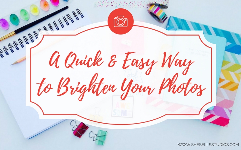 A Quick & Easy Way to Brighten Your Styled Stock Photo