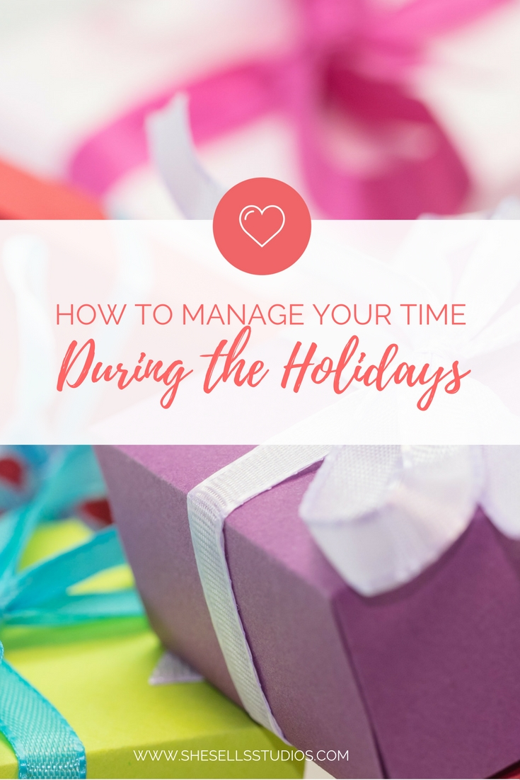 time management tips for less stressful holiday